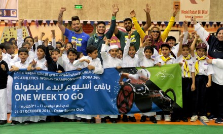 Marking One Week To Go To Doha 2015 IPC Athletics World Championships