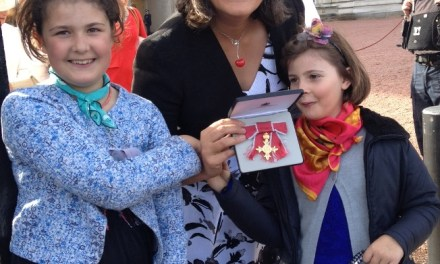 Carers UK Policy Director receives OBE from the Princess Royal