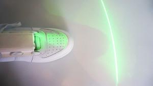 Path Finder laser shoe for Parkinsons