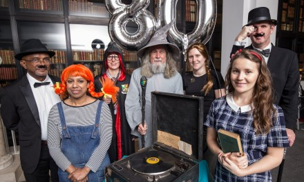 Charity celebrates 80 years of Talking Books by making service entirely free for people with sight loss