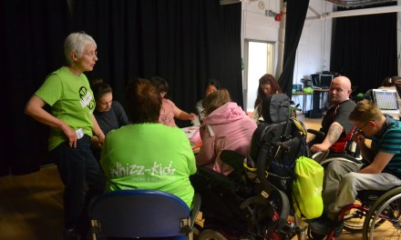 This year I will… get involved with Whizz-Kidz