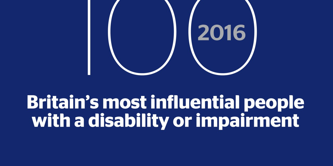 Top 100 Disabled People named in Power 100 list