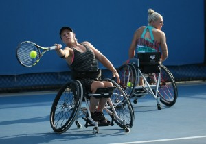 Lucy Shuker and Jordanne Whiley (Copyright: The Tennis Foundation)