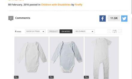 Marks & Spencer launch clothing range for disabled children