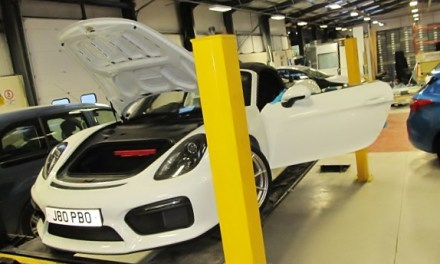 Top-of-the-range Porsche causes a stir at vehicle adaptation firm Autochair