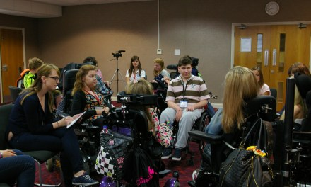 Filmmaking unites young people at Spinal Muscular Atrophy Support Day