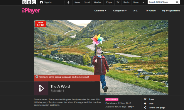 BBC One short drama: The A Word