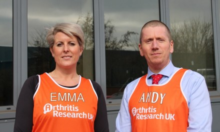 Patterson Medical are fundraising for Arthritis Research UK
