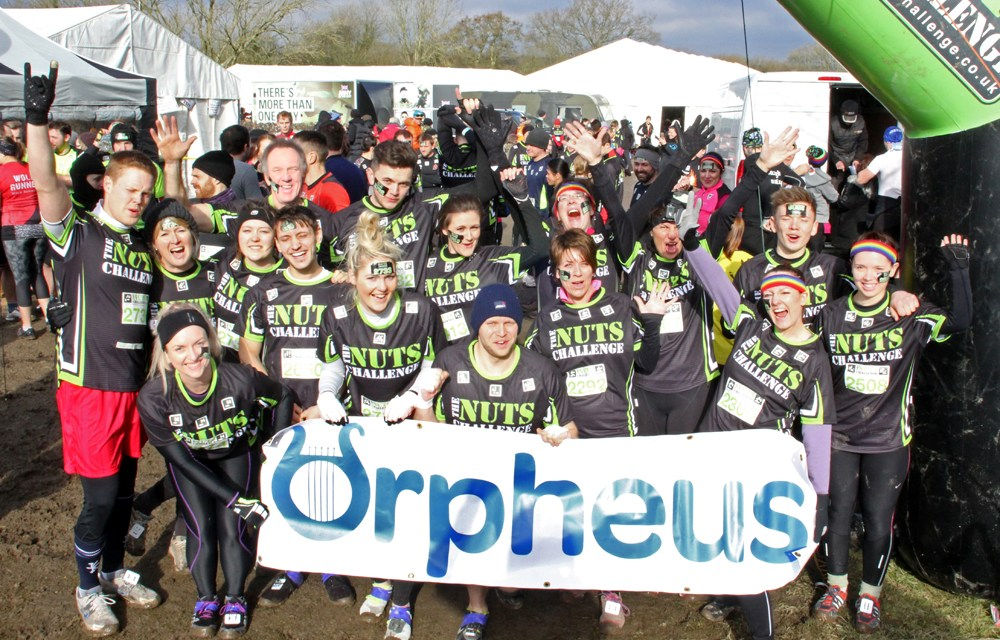 Team Orpheus Tackle The Nuts Challenge