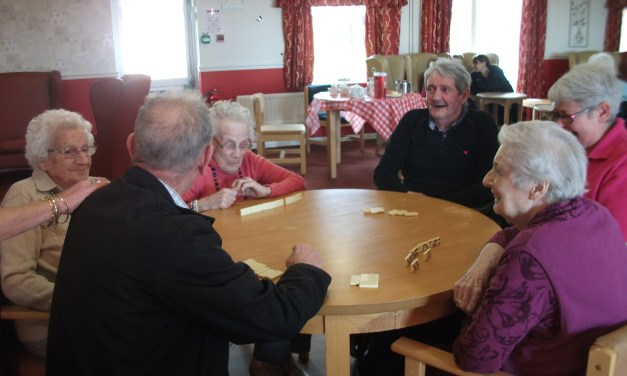 New Club is Care Home Residents Cup of Tea