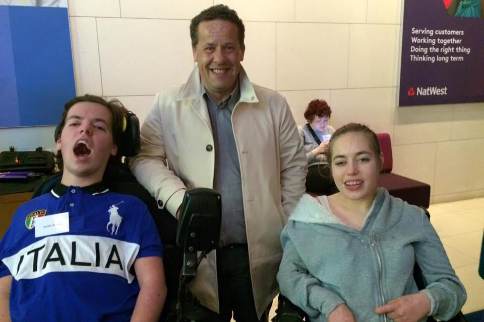 Father petitions to make air travel more accessible