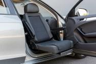 Autoadapt _TurnyLowVehicleA swivel seat (Turny Low Vehicle) installed in a Audi A4.