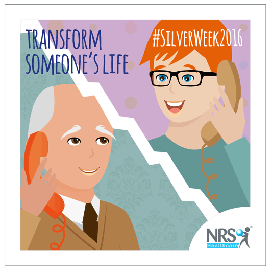 NRS Healthcare supports the mental wellbeing of older people during #SilverWeek2016
