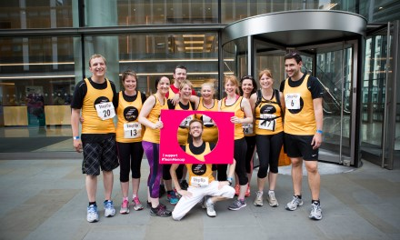 Over 170 runners climb 36 floors of London's Walkie Talkie for charity challenge