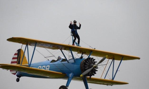 WingWalking women reach for the skies for epilepsy