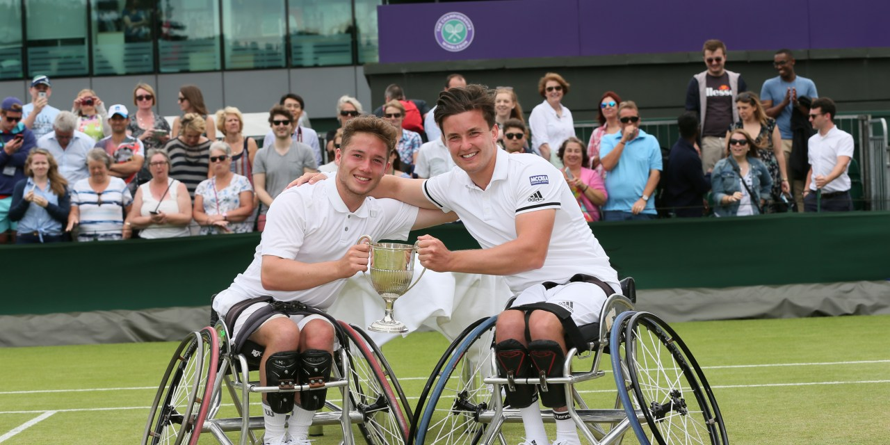 Wimbledon champions and Rio medal hopes among British Open Wheelchair Tennis entry