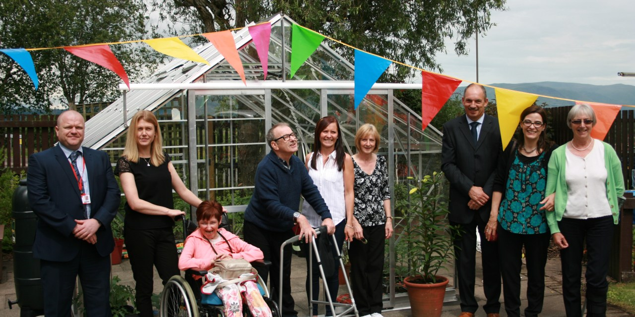 New Greenhouse Is Blooming Marvellous Addition For Stirling Customers