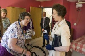 The Princess meeting Caroline