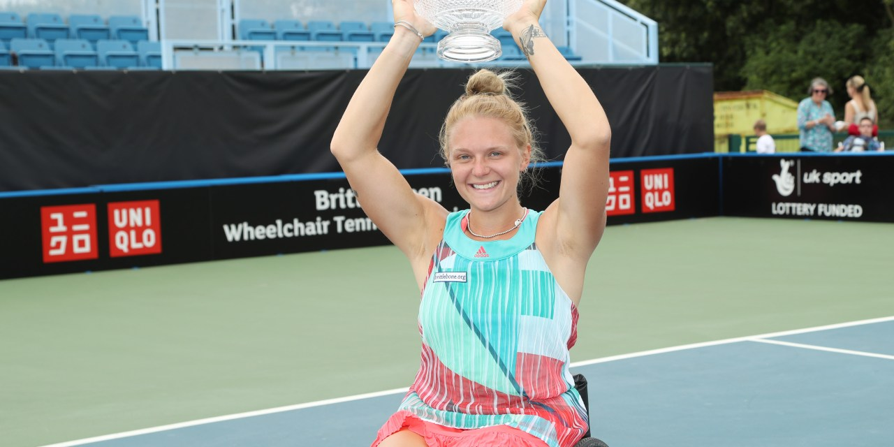 Whiley retains British Open Wheelchair Tennis Singles title