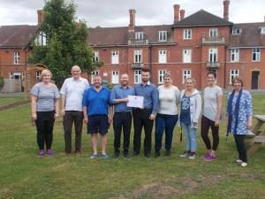 Malvern View Team Photo