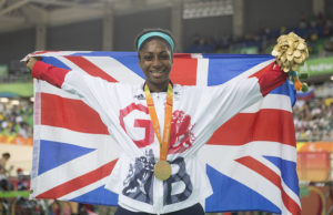 Copyright onEdition 2016© Cyclist Kadeena Cox, wins a gold medal in C4-5 - 500m for ParalympicsGB at the Rio Paralympic Games 2016.