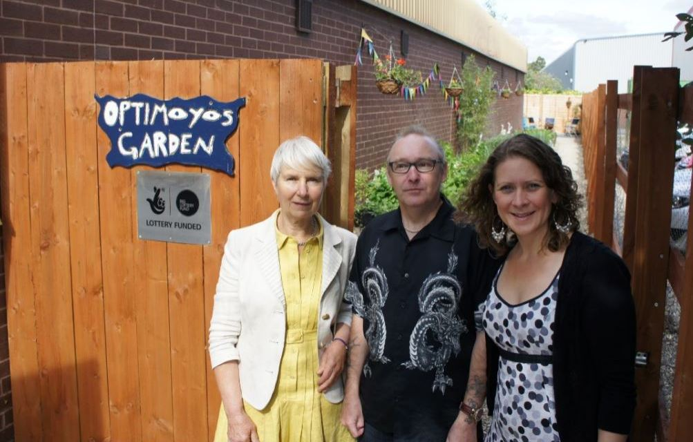 Selby garden created by blind and partially sighted residents celebrates its official opening