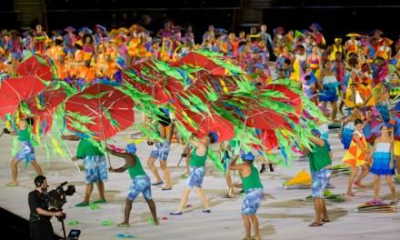 Opening ceremony embraced by Brazil