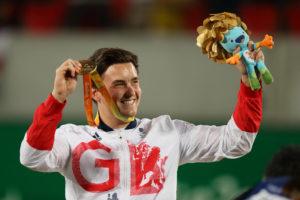 Gordon Reid, Gold medallist, Rio 2016 Paralympics