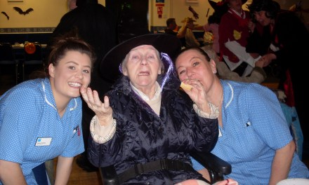 Bellshill Care Home hosts spooktacular party