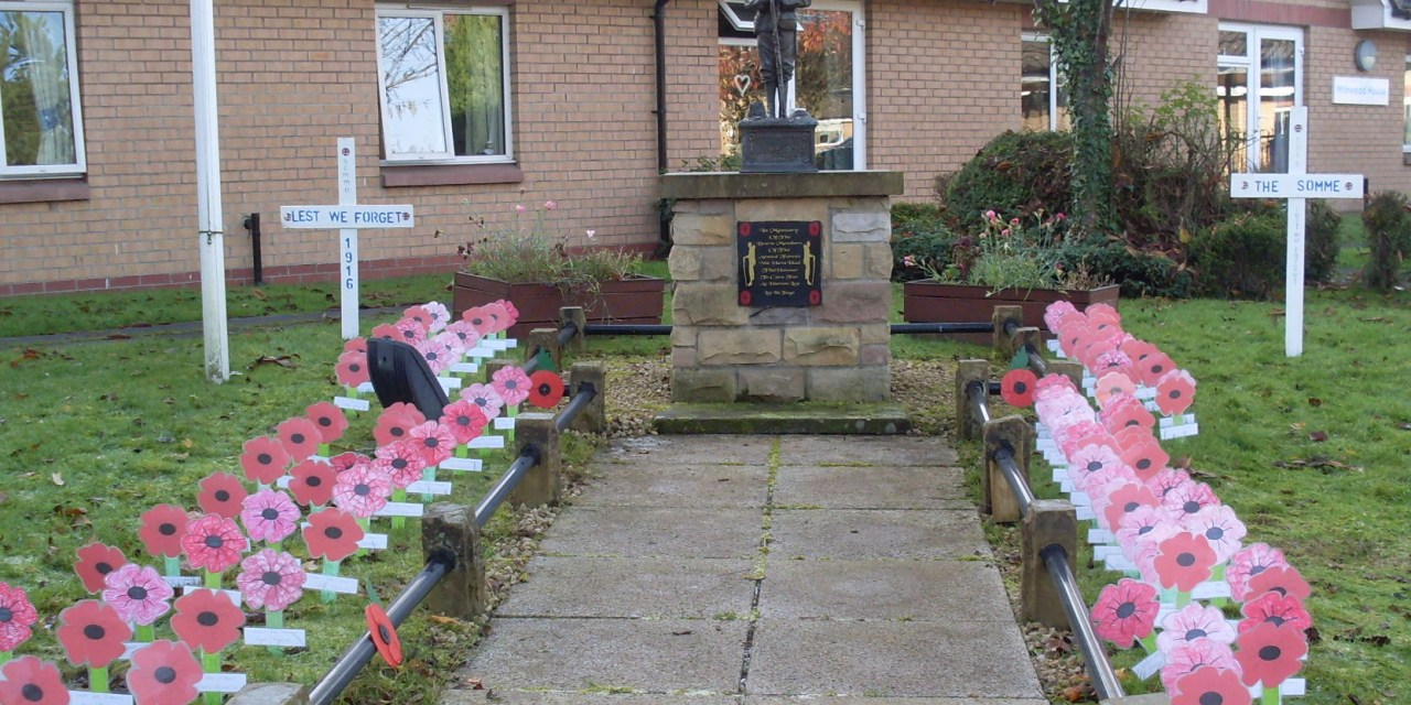 Bellshill Care Home's Remembrance Day Tribute