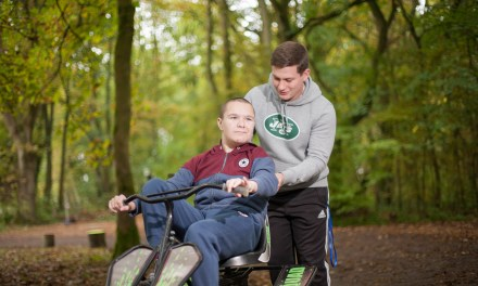 Young disabled people enjoy woodland holiday supported by national charity