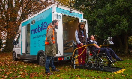 PAMIS campaigning for the first Scottish mobile Changing Places toilet