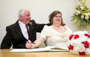 Centre 81 members Alison Rose and Trevor Hazell celebrate their wedding - Pic by TMS Media Ltd