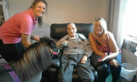 No Long Faces at Glenrothes Care Home