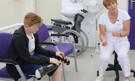 New NHS sports prostheses for future Paralympians