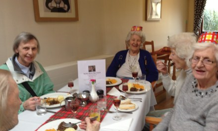 Dundee care home has a 'Dram' good burns night
