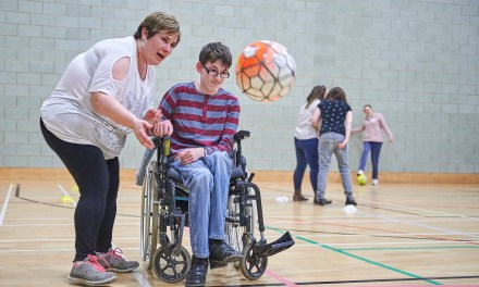 Charity partners with Tottenham Hotspur Foundation to deliver accessible sports sessions