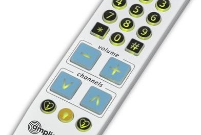 New amplicomms BKR-33 Big Button Universal Remote for Dementia, Sight Loss & Simplicity
