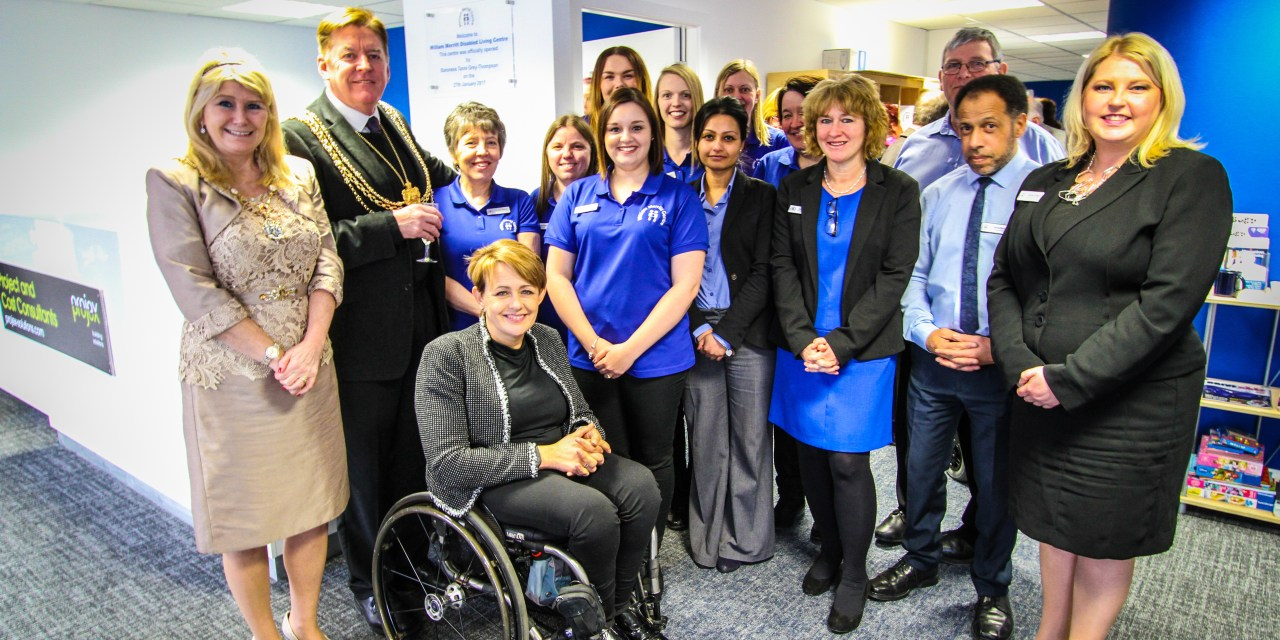 William Merritt Charity Moves into New Disabled Living Centre