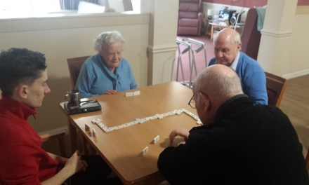 Everyday's a school day for Barrhead care home residents