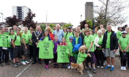 Step up for Stick 'n' Step on Wirral Coastal Walk