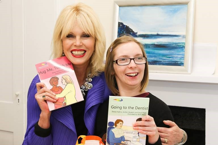 Patron, Joanna Lumley opens new facilities at The Grange Centre