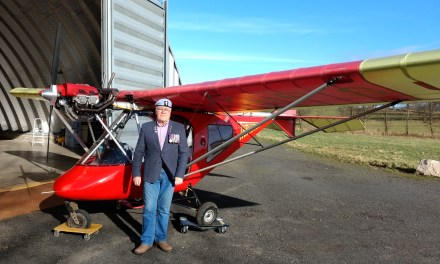Nervous Flyer Trains for Pilot License 60 Years After First Flight