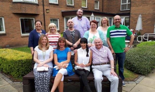 Volunteers Praised For Hard Work at Bield