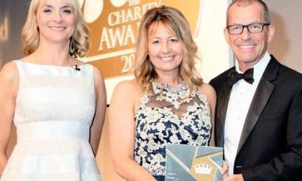 Aspire wins at the Charity Awards 2017