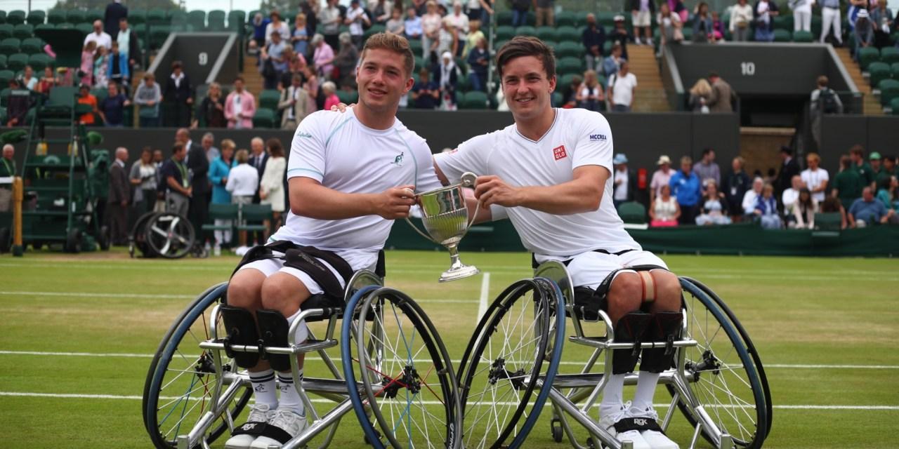 Brits Hewett and Reid retain Wimbledon wheelchair tennis doubles title in thrilling final