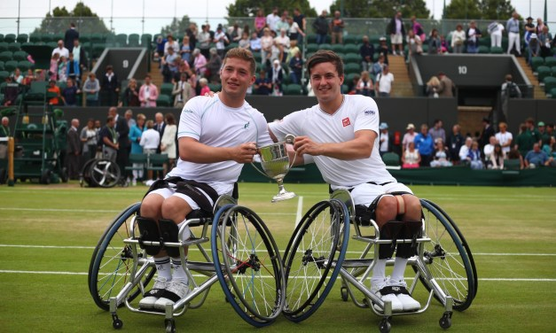 Brits Hewett and Reid retain Wimbledon wheelchair tennis doubles title in thrilling final