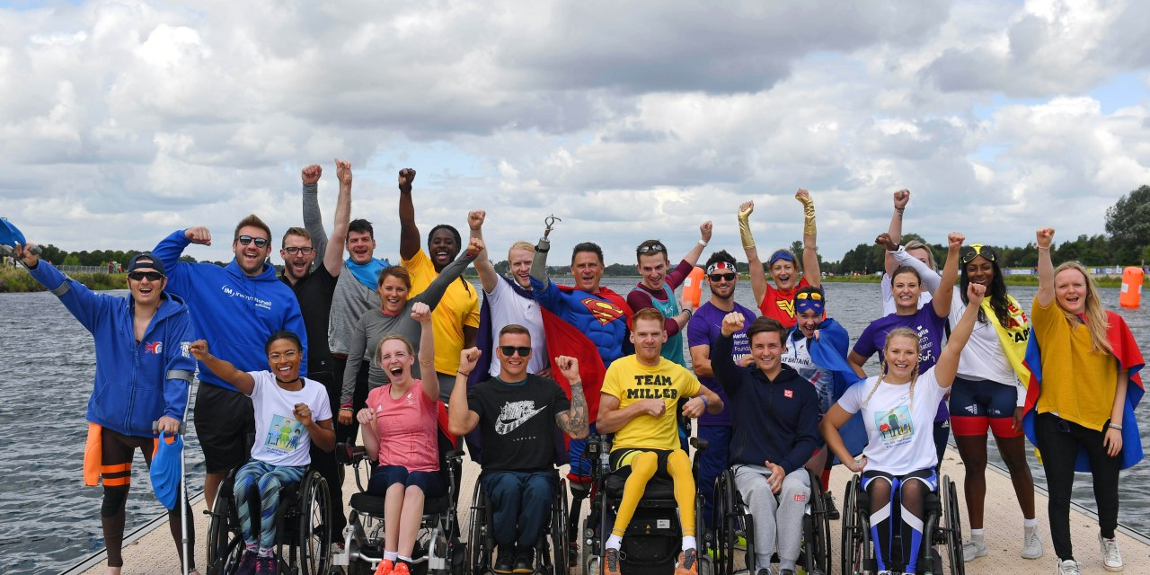 Superhero Tri Series sees Paralympic Champions cheer on Everyday Superheroes
