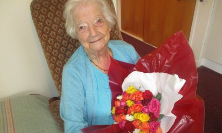 101 Year Old Celebrates Birthday with Sherry and a Dram