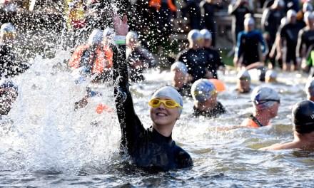 Inaugural London City Swim makes a splash in Docklands